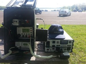 """Used my new Juice Box MK2 over the weekend. I'm with the Coast Guard Auxiliary and do radio communications for our assets on patrol. I just thought you may want to see how your product was used. I attached the solar panel to """"supplement"""" the battery while in use, but probably did not need it. Fantastic product ! This set up ran two VHF marine radios with transmitting 25 Watts for an 9 hour period and the Juice Box never went below 13V. Thanks again for a great product."""