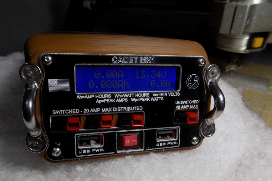 Cadet MK1 LiFePo4 Portable Power Station, front view